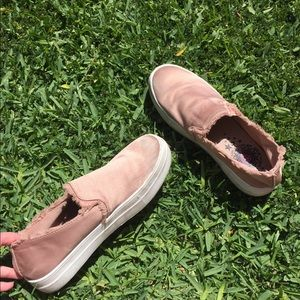 Shoes - DUSTY ROSE SNEAKERS